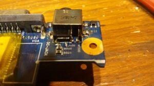 cambio conector portatil laptop dc jack teclado samsung r540-19