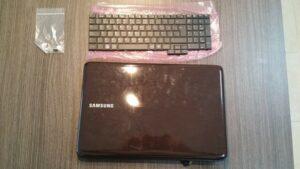 cambio conector portatil laptop dc jack teclado samsung r540-0