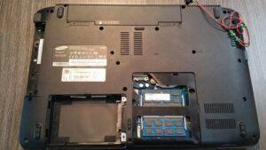 cambio conector portatil laptop dc jack teclado samsung r540-1