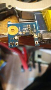 cambio conector portatil laptop dc jack teclado samsung r540-14