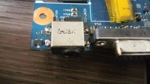 cambio conector portatil laptop dc jack teclado samsung r540-21