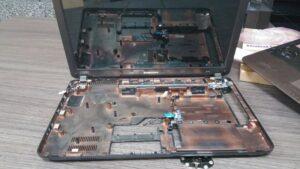 cambio conector portatil laptop dc jack teclado samsung r540-24