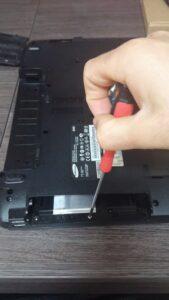 cambio conector portatil laptop dc jack teclado samsung r540-25