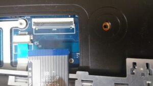cambio conector portatil laptop dc jack teclado samsung r540-28