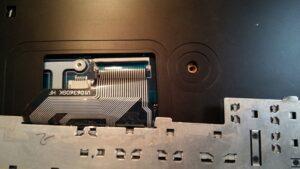 cambio conector portatil laptop dc jack teclado samsung r540-3