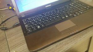 cambio conector portatil laptop dc jack teclado samsung r540-30