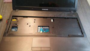cambio conector portatil laptop dc jack teclado samsung r540-6