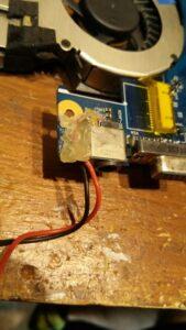 cambio conector portatil laptop dc jack teclado samsung r540-8