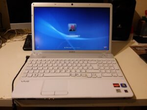 cooler portatil laptop sony vaio 30